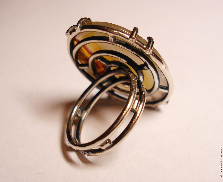Женские кольца с агатом