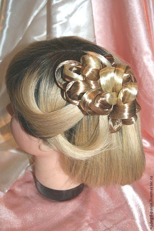 Заколка из искусственных волос, постиж №49
