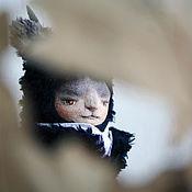 Куклы и игрушки ручной работы. Ярмарка Мастеров - ручная работа Авторская игрушка, Котолень Онегин. Авторская кукла. Тедди кот олень. Handmade.