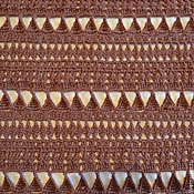 Аксессуары ручной работы. Ярмарка Мастеров - ручная работа Шарф шоколадный. Handmade.