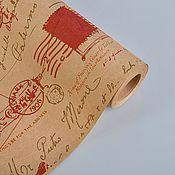 """Материалы для творчества ручной работы. Ярмарка Мастеров - ручная работа Бумага крафт """"Ретро"""". Handmade."""