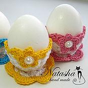Подарки к праздникам ручной работы. Ярмарка Мастеров - ручная работа Подставка под яйцо. Handmade.