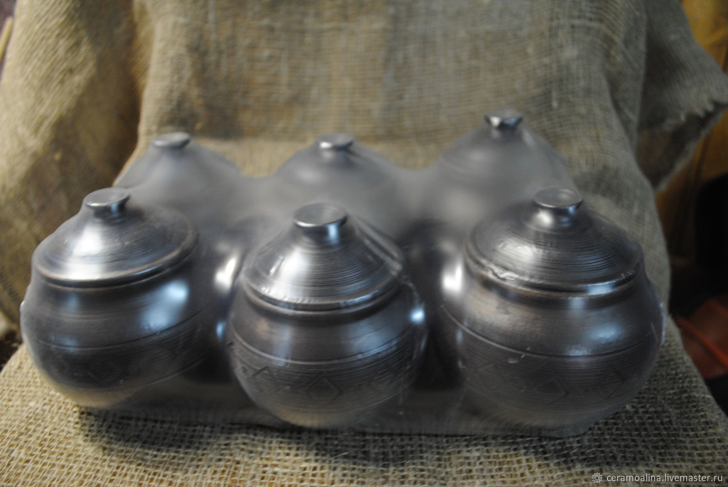 Pots for baking in the oven free shipping!!!, Baking dish, Skopin,  Фото №1