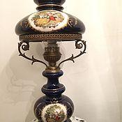 Лампа керосиновая кобальтовая