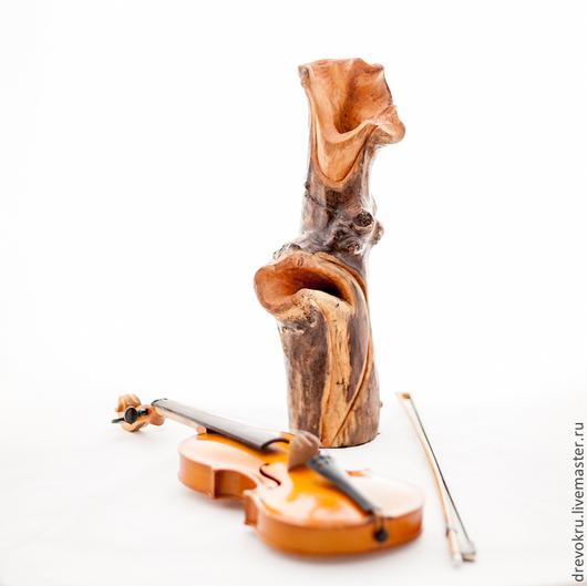 """Вазы ручной работы. Ярмарка Мастеров - ручная работа. Купить Ваза деревянная """"Мелодия в стиле джаз"""". Handmade. Ваза, джаз"""