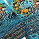 """Бирка, визитка (50штук.), готовый дизайн """"Апельсиновый венок"""". Визитки. Сеньора Луковка (seniora-lukovka). Ярмарка Мастеров. Фото №6"""