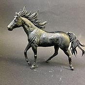 """Для дома и интерьера ручной работы. Ярмарка Мастеров - ручная работа фигурка """" бегущая лошадь"""" (Лошадь  статуэтка). Handmade."""