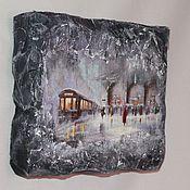 """Картины и панно ручной работы. Ярмарка Мастеров - ручная работа Панно """"Оттенки серого"""". Handmade."""