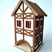 Для дома и интерьера handmade. Livemaster - original item Chaynyq domik