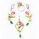 """Кольца ручной работы. Кольцо """"Весеннее настроение"""" - тюльпаны. Saison Romantique. Ярмарка Мастеров. Весенние украшения, весенние цветы"""