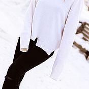 Свитеры ручной работы. Ярмарка Мастеров - ручная работа Молодежный свитер Fashion oversize. Handmade.