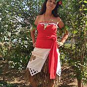 Одежда ручной работы. Ярмарка Мастеров - ручная работа костюм аниматора  Моана. Handmade.