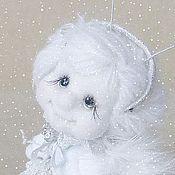 Куклы и игрушки ручной работы. Ярмарка Мастеров - ручная работа Куда исчезают снежинки?. Handmade.