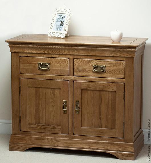 """Мебель ручной работы. Ярмарка Мастеров - ручная работа. Купить Тумба из дуба """"Франция"""". Handmade. Коричневый, мебель из массива, натурально"""