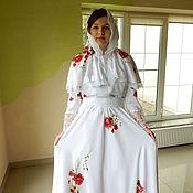 """Одежда ручной работы. Ярмарка Мастеров - ручная работа платье """"Розы на снегу"""". Handmade."""