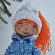 Куклы тыквоголовки ручной работы. Алиса. Добрые игрушки (Sveta-qloria). Интернет-магазин Ярмарка Мастеров. Кукла, подарок женщине