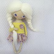 Куклы и игрушки ручной работы. Ярмарка Мастеров - ручная работа Текстильная кукла_3. Handmade.