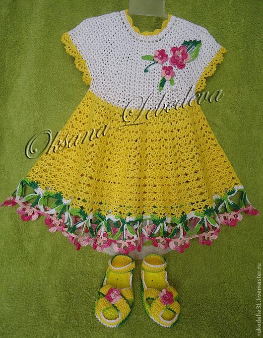 платье для детского праздника, ажурное платье девочки, ажурное платье крючком, яркое детское платье, яркое летнее платье, платье на детский праздник утренник, нарядное детское платье, купить платье