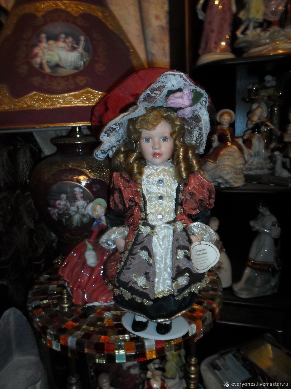 Винтаж: Великолепная Джульетта фарфоровая кукла Англия, Куклы винтажные, Москва,  Фото №1