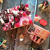 Посуда ручной работы. Ярмарка Мастеров - ручная работа Чайный набор Арт 5.203 Hello Kitty. Handmade.