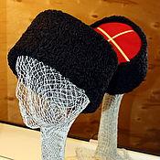 Аксессуары ручной работы. Ярмарка Мастеров - ручная работа Казачья папаха Атаман. Handmade.