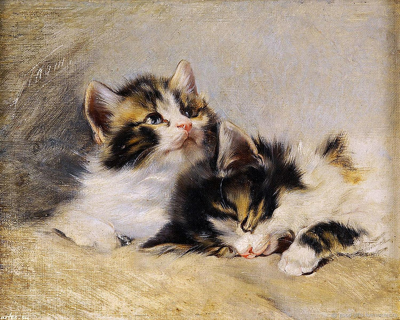 картинки для декупажа коты котята