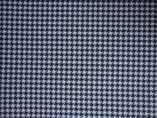 Шитье ручной работы. Ярмарка Мастеров - ручная работа. Купить Ткань костюмная Гусиные Лапки Пье-де-пуль чёрно-белая полиэстер. Handmade.