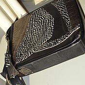 """Сумки и аксессуары ручной работы. Ярмарка Мастеров - ручная работа сумка  женская для планшета """"Пестрая ассиметрия"""". Handmade."""