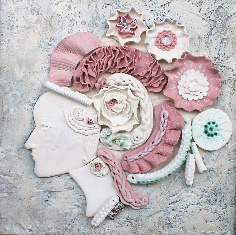 panel 'Porcelain girl', Pictures, Krasnoyarsk,  Фото №1