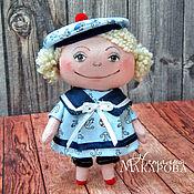 Куклы и игрушки handmade. Livemaster - original item Textile Seamen`s doll. Handmade.