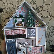 Для дома и интерьера handmade. Livemaster - original item Advent calendar