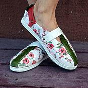 Обувь ручной работы handmade. Livemaster - original item Shoes Ryabinushka for the street. Handmade.