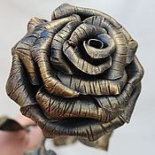Подарки к праздникам ручной работы. Ярмарка Мастеров - ручная работа Кованая роза. Handmade.