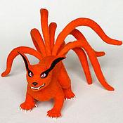 Куклы и игрушки ручной работы. Ярмарка Мастеров - ручная работа Девятихвостый Демон Лис ( Nine-tail demon fox Kurama ). Handmade.