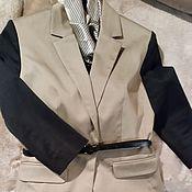 Одежда ручной работы. Ярмарка Мастеров - ручная работа Жакет женский деловой. Handmade.