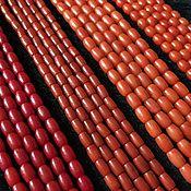 Бусины ручной работы. Ярмарка Мастеров - ручная работа Бусина 5-6 мм Бочонок (4-7), коралл. Handmade.