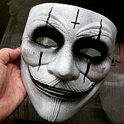 Головные уборы ручной работы. Ярмарка Мастеров - ручная работа Маска Блэк Джэк Black Jack Vendetta Restyling. Handmade.
