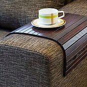 """Для дома и интерьера ручной работы. Ярмарка Мастеров - ручная работа коврик из массива дуба """"классик"""" - для чашки кофе. Handmade."""