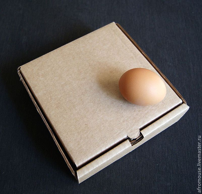 Коробка из листа бумаги А4 - Своими руками