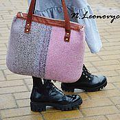 """Сумки и аксессуары ручной работы. Ярмарка Мастеров - ручная работа Сумка """" Pink&Grey"""". Handmade."""