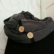 Аксессуары ручной работы. Ярмарка Мастеров - ручная работа Бохо шарф снуд трикотажный. Handmade.