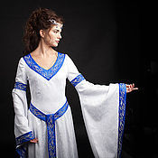 Свадебный салон handmade. Livemaster - original item Dress The Elf. Handmade.