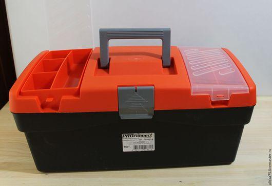 Органайзеры для рукоделия ручной работы. Ярмарка Мастеров - ручная работа. Купить Ящик для инструмента 420х220х180 мм. Handmade. Комбинированный, бокс