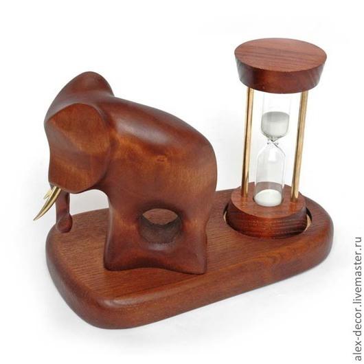 """Часы для дома ручной работы. Ярмарка Мастеров - ручная работа. Купить Песочные часы """"Elefant"""". Handmade. Песочные часы, часы"""