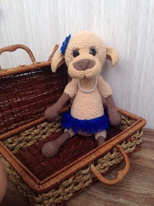Мишки Тедди ручной работы. Ярмарка Мастеров - ручная работа. Купить Овечка Долорес. Handmade. Овечка, игрушка в подарок, игрушка