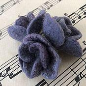 Украшения handmade. Livemaster - original item Purple babies, set of 3 brooches. Handmade.