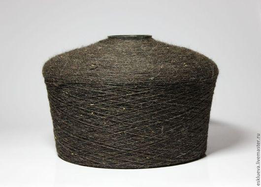 Вязание ручной работы. Ярмарка Мастеров - ручная работа. Купить Шерсть овечья на бобинах, темно-коричневая, вес 2,3-2,8 кг. Handmade.