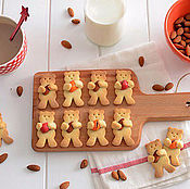 Для дома и интерьера ручной работы. Ярмарка Мастеров - ручная работа Форма для печенья Мишка. Handmade.