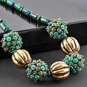Украшения handmade. Livemaster - original item Beads of natural turquoise Orient Express. Handmade.
