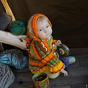 Работы для детей, ручной работы. Ярмарка Мастеров - ручная работа Детская кофточка Веселый гном. Handmade.